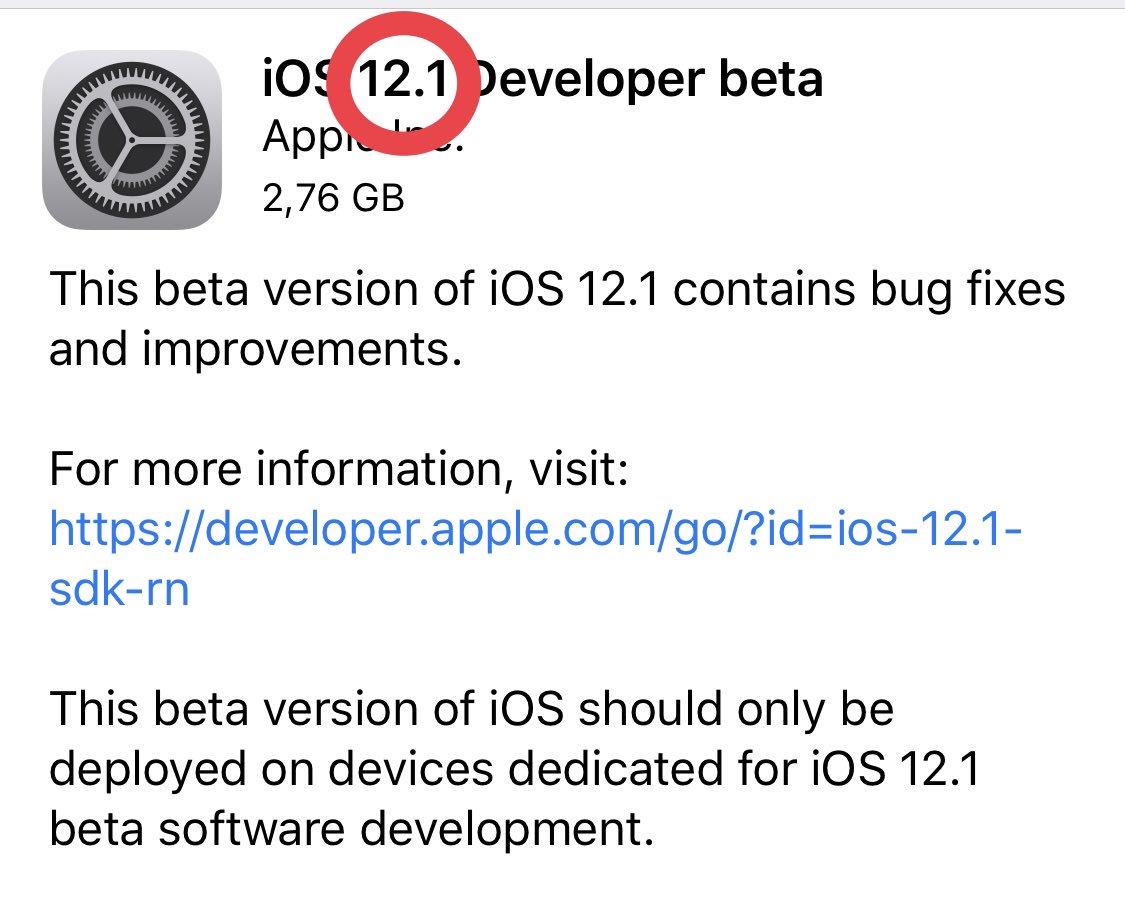 #iOS12