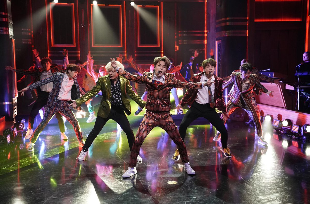 Bts Try The Fortnite Dance Challenge On Fallontonight Scoopnest Com