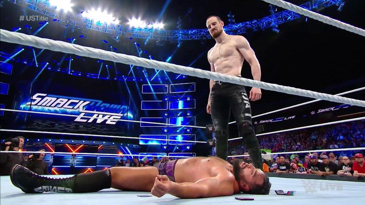 RT @WWE: Worst #RusevDay ever. #SDLive #USTitle @WWEDramaKing @RusevBUL @LanaWWE https://t.co/FbLcjqnSJp