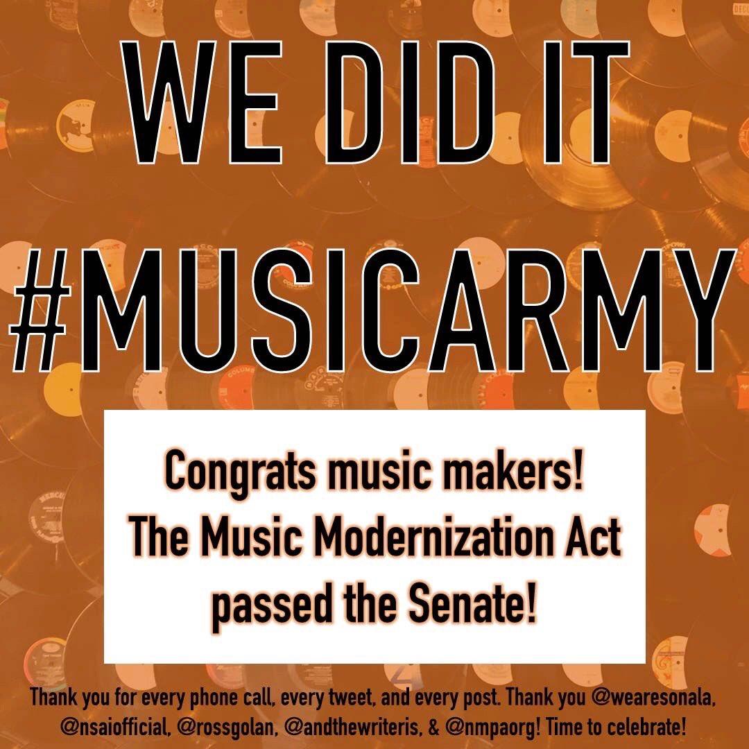 WE DID IT #MUSICARMY!!!! https://t.co/3vTwL0wTU2