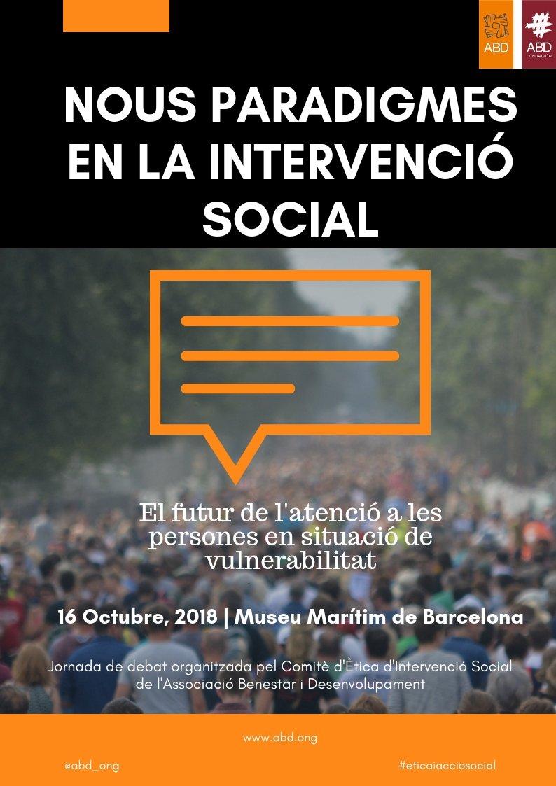 """test Twitter Media - 👁🗨👁🗨¿Encara no coneixes els ponents de la Jornada """"Nous paradigmes en la intervenció social"""" d'@abd_ong?   Descobreix-ho aquí ⬇️⬇️  https://t.co/TOUG17Yflz https://t.co/chnpwjvdgr"""