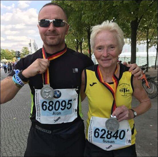 Burnham-On-Sea pensioner Sue Nicholls, 73, completes her 16th marathon — full story at: https://t.co/VtxMoBdL2i https://t.co/WAyOHNpY7X