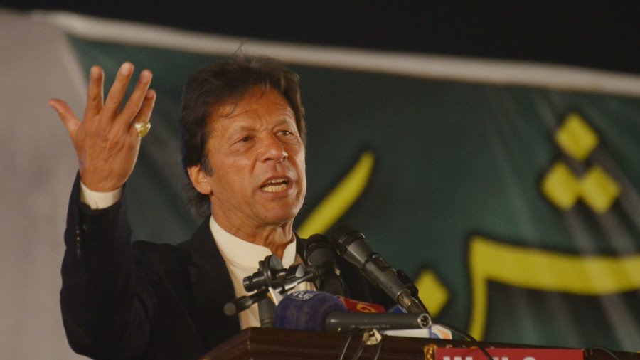 Pakistan's PM Khan in Saudi Arabia on 1st overseas trip