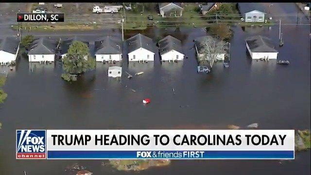 Trump will survey Florence damage during North Carolina visit Wednesday