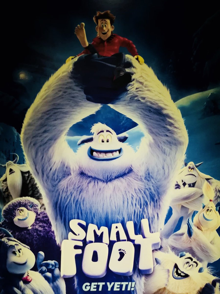 So excited to be recording a voice for the film #Smallfoot today! Wish me luck! https://t.co/6Lqu5qw2Vy