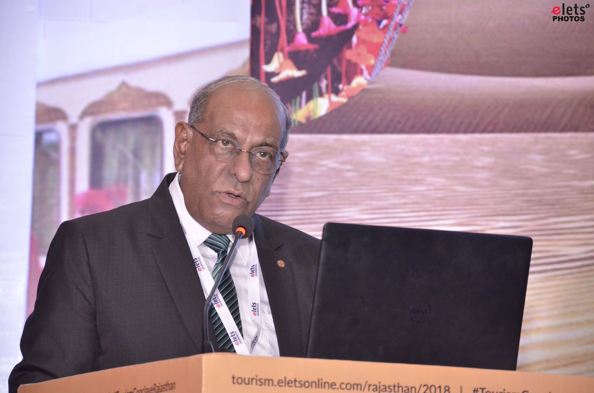 test Twitter Media - H.E. J. Goburdhun High Commissioner of the Republic of Mauritius at #eletsTourism  @my_rajasthan @VasundharaBJP @SeeMauritius   See more pic:  https://t.co/xd2J2KzTHU   Watch more:  https://t.co/Z033resDa2 https://t.co/mAZm9vwUM4