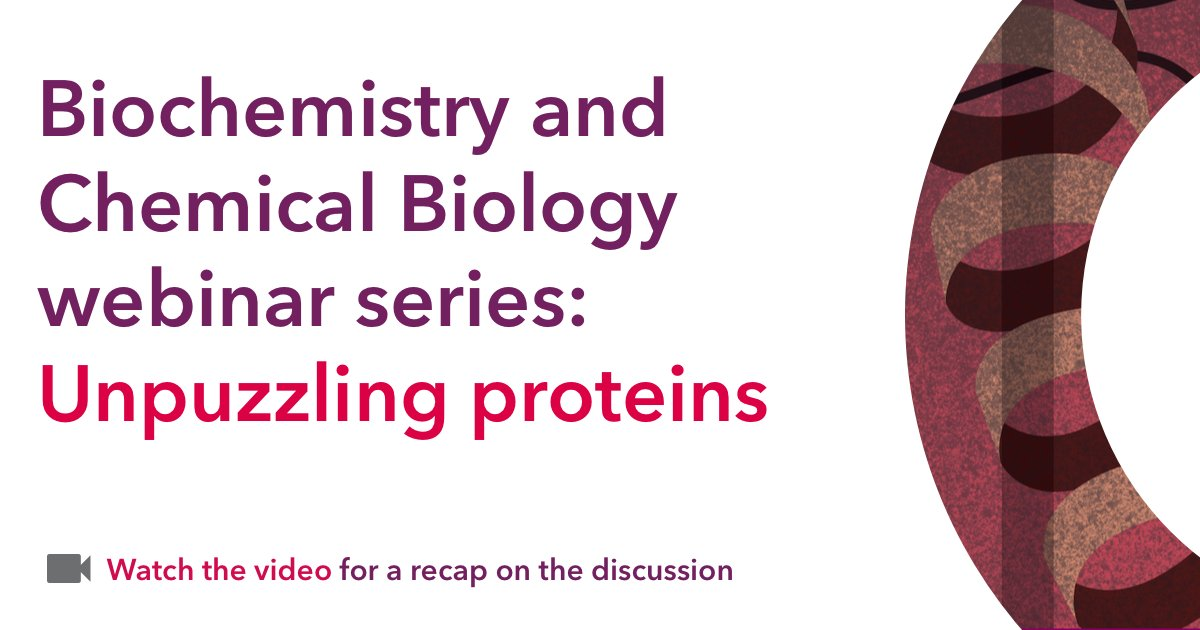 test Twitter Media - In the first webinar of our #Biochemistry and Chemical Biology series, panelists unravelled the secrets of proteins https://t.co/QAMe8X01qI https://t.co/SLuos4KBcA