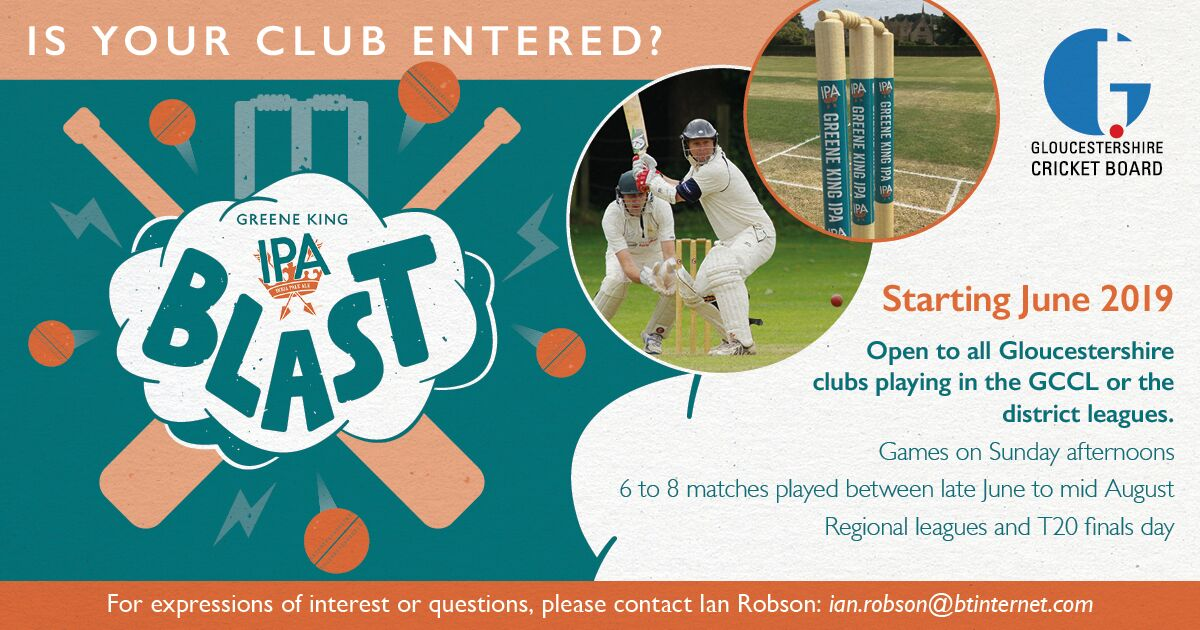 test Twitter Media - The @GlosCCL is launching a new T20 comp to revitalise Sunday cricket. To register your club's interest or for more details please go to https://t.co/s1Dxla6BBN https://t.co/W7C9Ju08Ja
