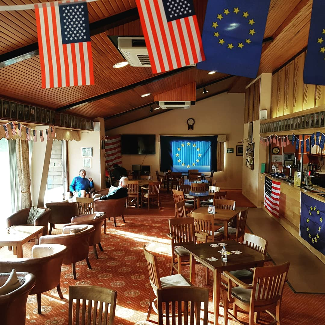 test Twitter Media - We got a little bit excited with the #rydercup coming up so made a start decorating the club house.  Make sure you join us next week to watch all the action unfold.  #teameurope #golflife #golf  @MidlandsGolfer @staffsgolf @RyderCupEurope @RyderCupUSA @rydercup @IanDaviesEEEgol https://t.co/1uFbmiW7CM