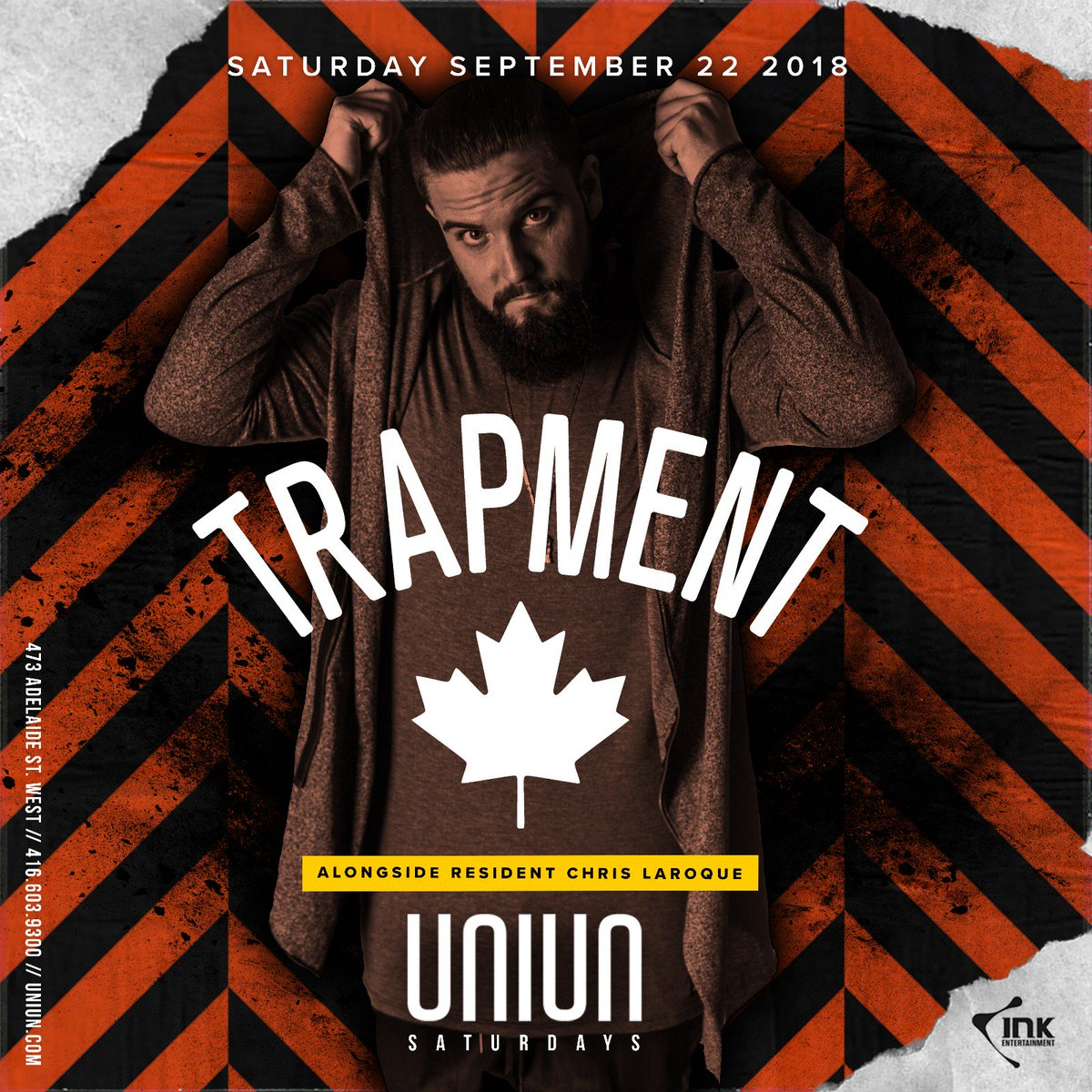 test Twitter Media - DJ @trapment is throwing a party tonight at Uniun! Need GL? Smash the link below!   GUESTLIST → https://t.co/UpVhHUSCPl BOTTLESERVICE → https://t.co/eIzlRFv7wi 🎉 https://t.co/10SnSqnxKY