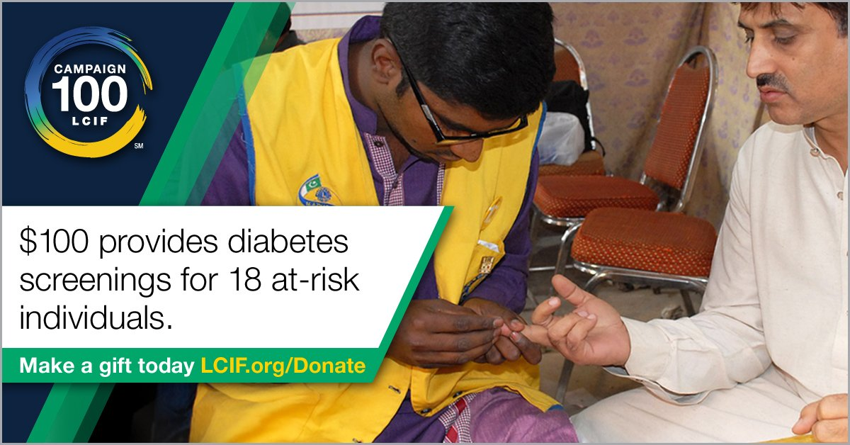 test Twitter Media - #DYK by 2040 nearly 650M people are expected to be living with diabetes? Through Campaign 100, LCIF will play a major role in combating the devastating disease of diabetes. Learn how you can #BE100 for your community - https://t.co/JKCJbxmYWW https://t.co/P0gsUh9AJp