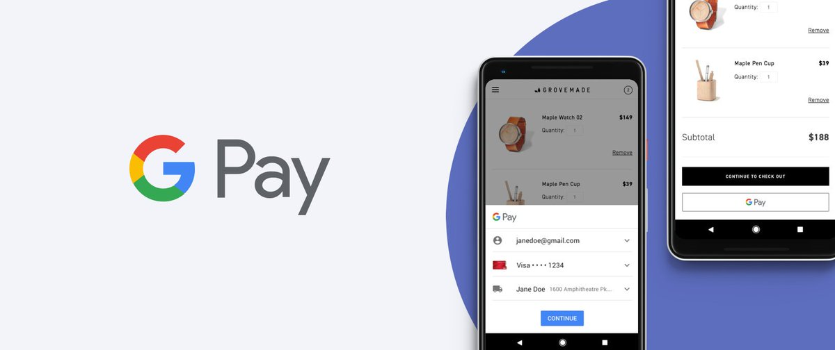#GooglePay