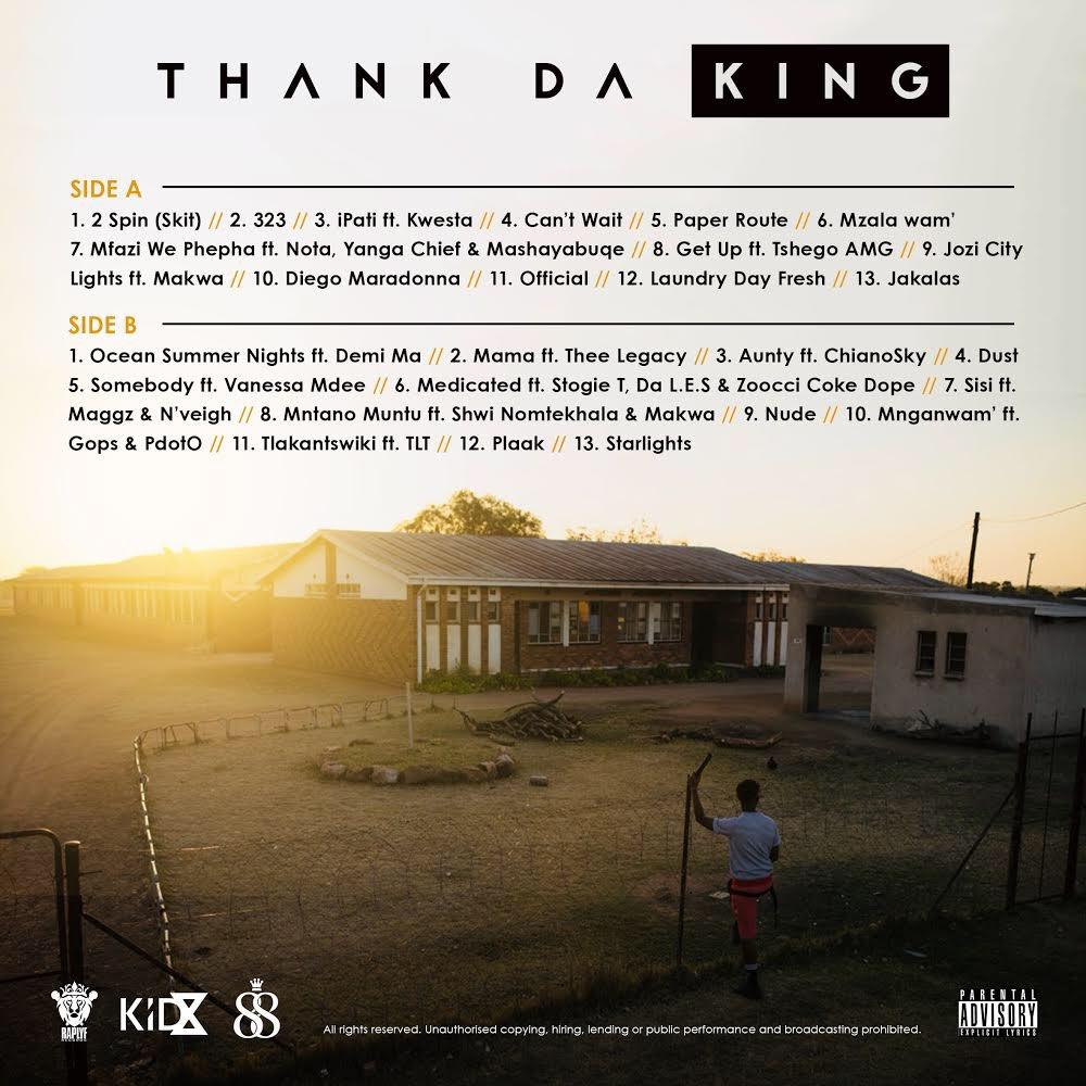 RT @KidXSA: 🚨🚨🚨Tracklist #ThankDaKing drops in a few https://t.co/JRBbycxoIE