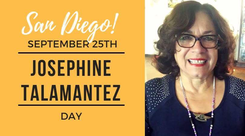 test Twitter Media - In better news #SanDiego is designating a day in honor of my amazing mama Josephine Talamantez  for her work in supporting her community and #ChicanoPark. Tuesday September 25, 2018 come join us at city council for this honor. So proud of this powerful #chicana #indígena #shero https://t.co/Qfdm42APTV