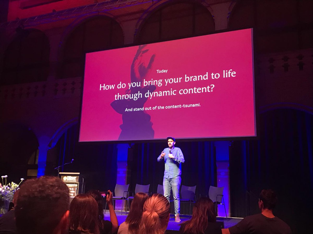 RT @vanksen: #DMWF Day 2 - Let's go 💪 Starting the day with Rens Verweij, Head of Innovation @VICE Benelux. https://t.co/MZO944gvYr