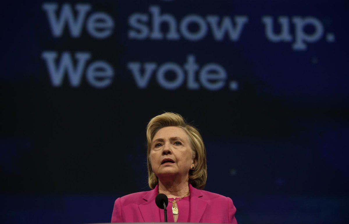 """Hillary Clinton gives stark warning about """"uncontrollable"""" Trump after the midterms"""