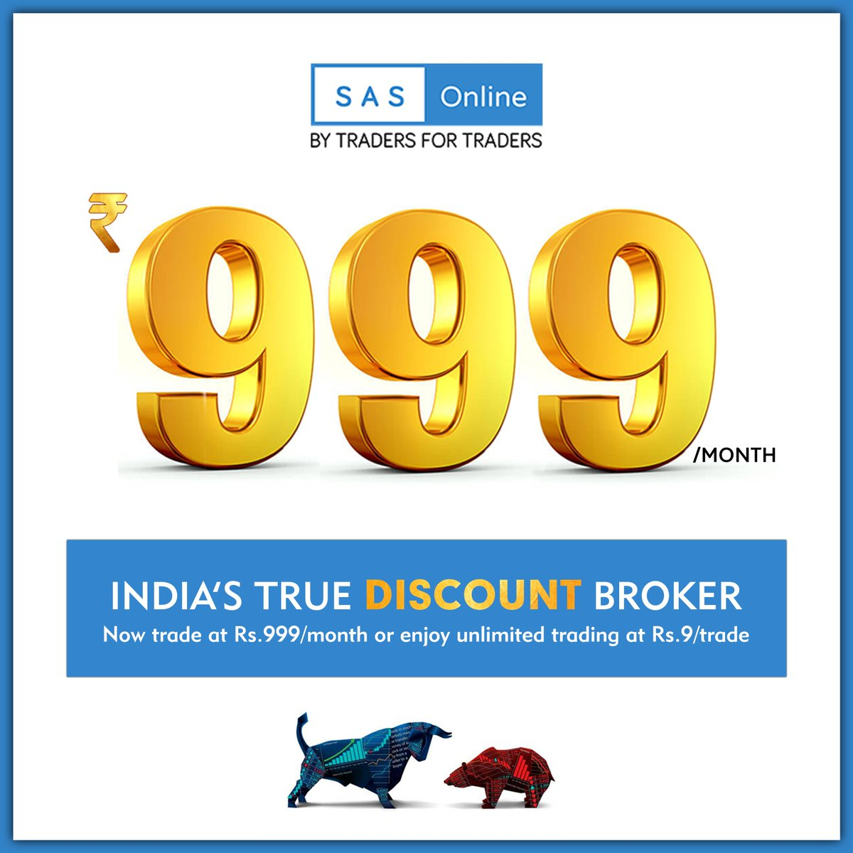 test Twitter Media - #UnlimitedTradeFor999 ✅ Yes You Heard That Correct , We Offer A Unique Trading Experience For Traders By Letting Them TRADE #Unlimited At Rs.999/Month   #DiscountBroker #BSE #NSE #Stocks #Trader #Brokerage #ShareMarket #StockMarket #Trading #MCX #OpenADematAccount #MutualFunds https://t.co/j1f9GJdypn