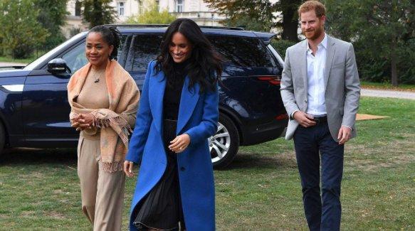Meghan Markle's mom, Doria Ragland, has her first Royal event under her belt.