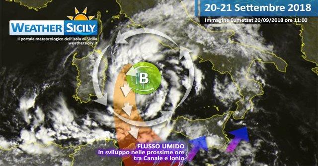 Vortice ciclonico sul Mar Tirreno: fase perturbata in accentuazione sulla Sicilia. https://t.co/cD9LGLfvrv https://t.co/K4BqvfR161