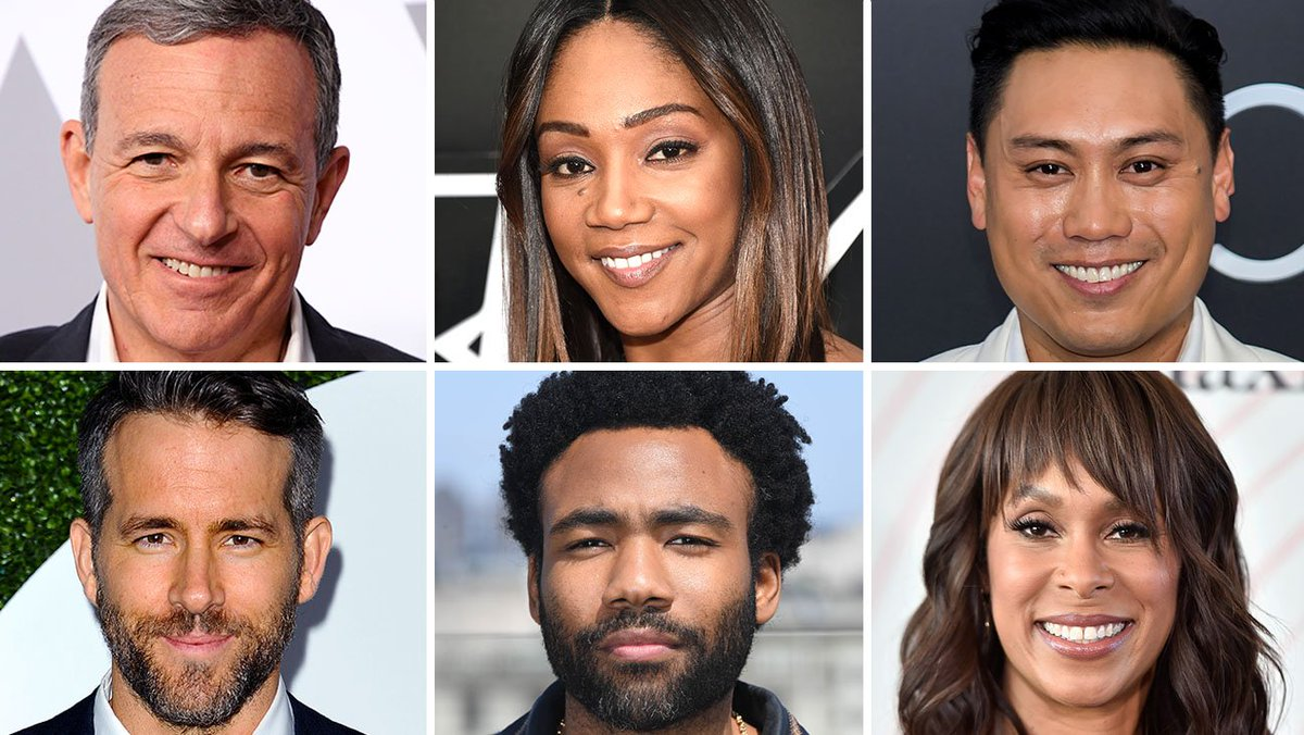 The Hollywood Reporter 100: The most powerful people in entertainment 2018