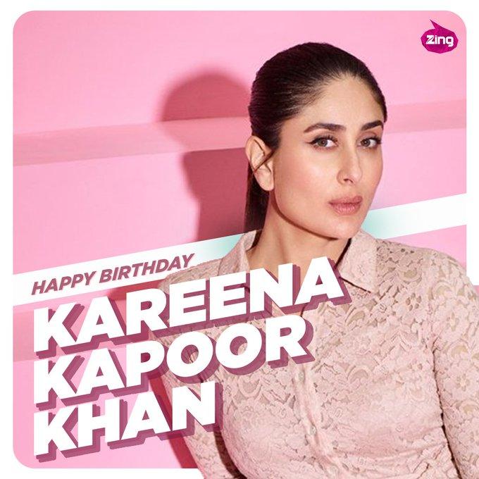 Zing wishes Kareena Kapoor Khan a very Happy Birthday.