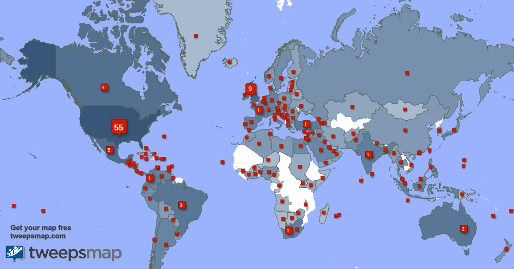 Special thank you to my 1472 new followers from USA, UK., Mexico, and more last week. PPSM119qju