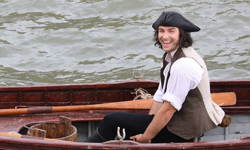 Poldark filming has started, woo! Take a look at the set pics...
