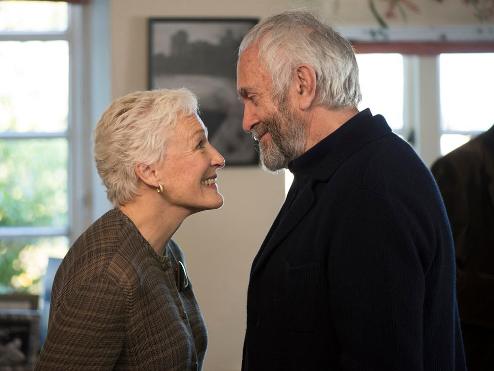 Glenn Close is incredible as a long-suffering partner to a famous writer in The Wife