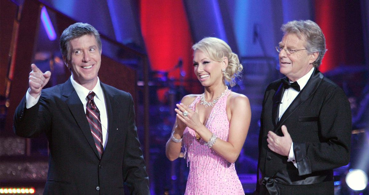 Tom Bergeron's Favorite 'DWTS' Moment Was Surprisingly Caused by Jerry Springer