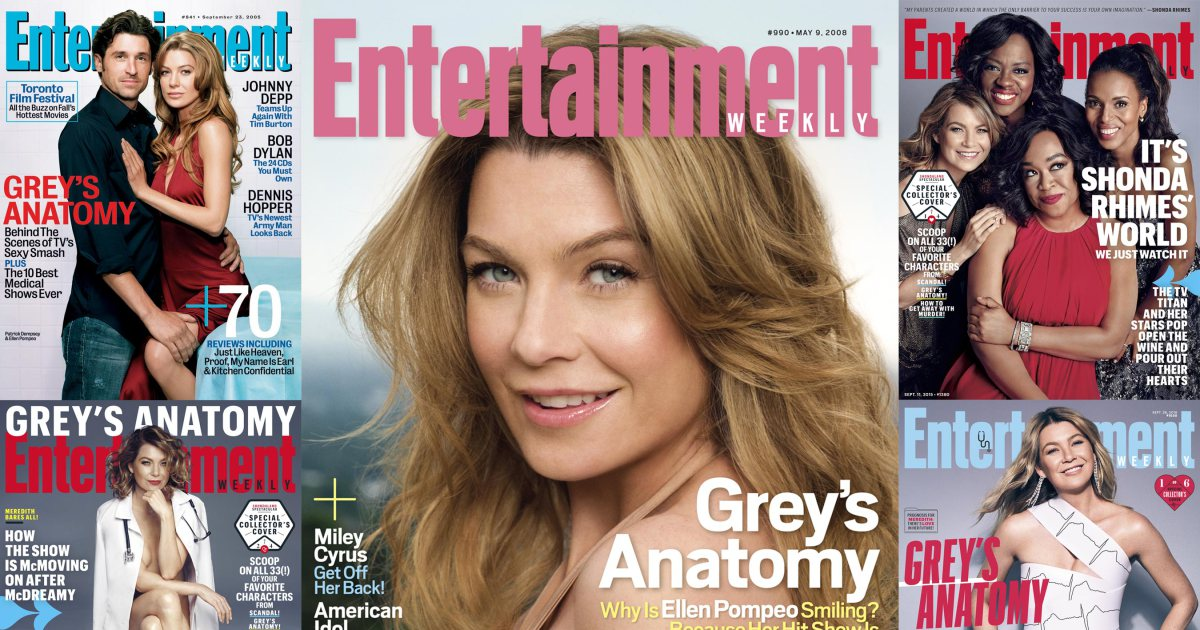 See all the times GreysAnatomy @EllenPompeo has been on the cover of EW: