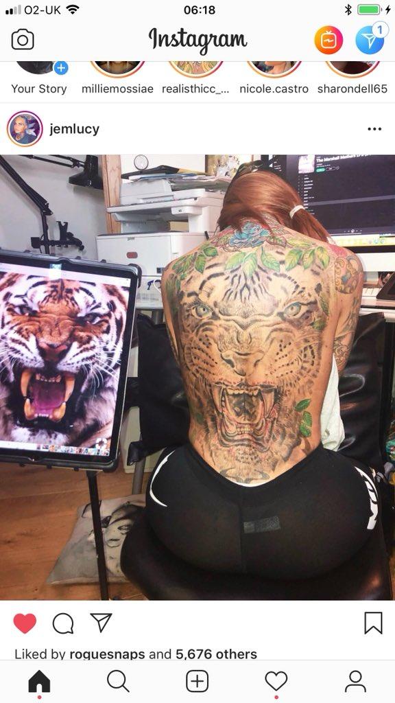 RT @matthewbolingb1: @jem_lucy tattoo is looking awesome https://t.co/i7kJrHbmRZ