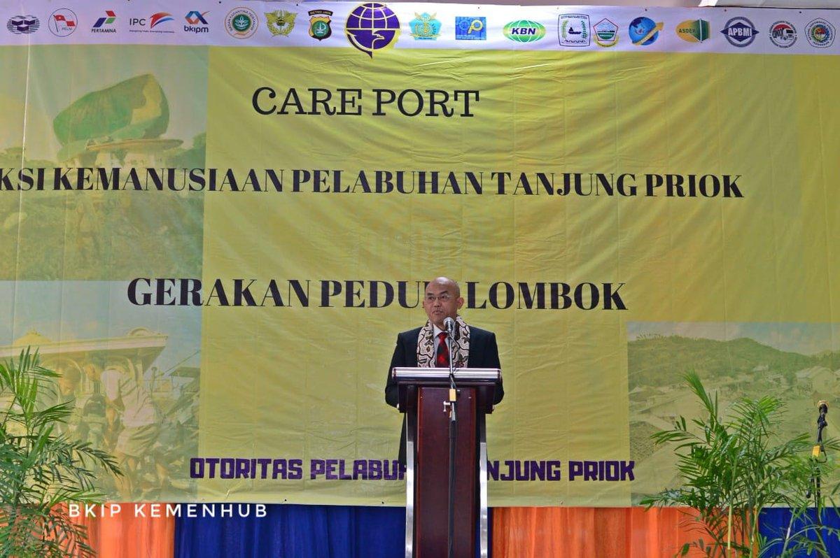#BeritaKemenhub Peduli Korban Gempa Lombok, Kemenhub Galang Bantuan https://t.co/2kfWlNNvFB https://t.co/ZZGhSCCCCY