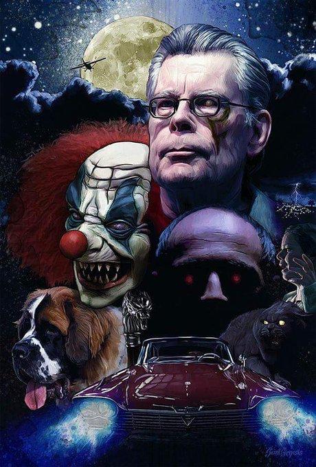 Legend Stephen King. Happy birthday.