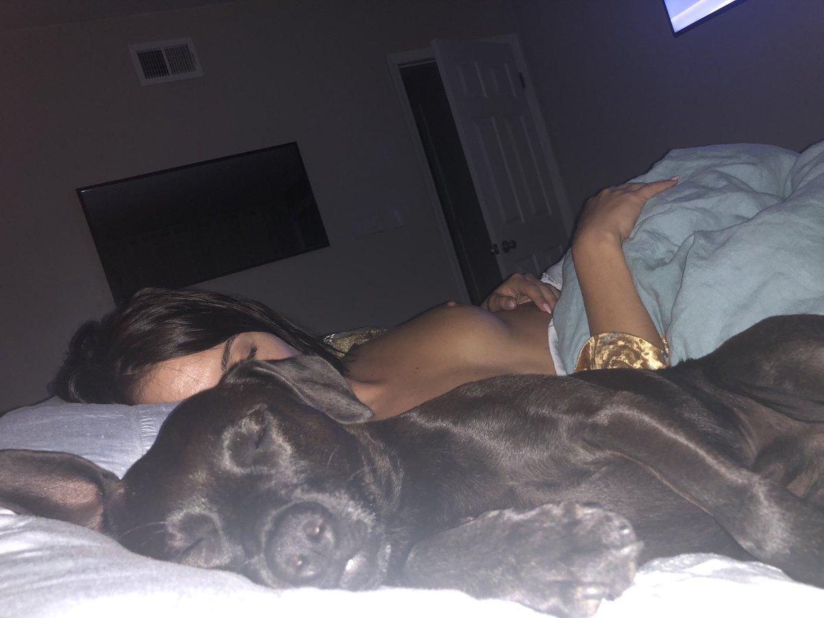 He steels my pillow every night.... WycWF7Owu3