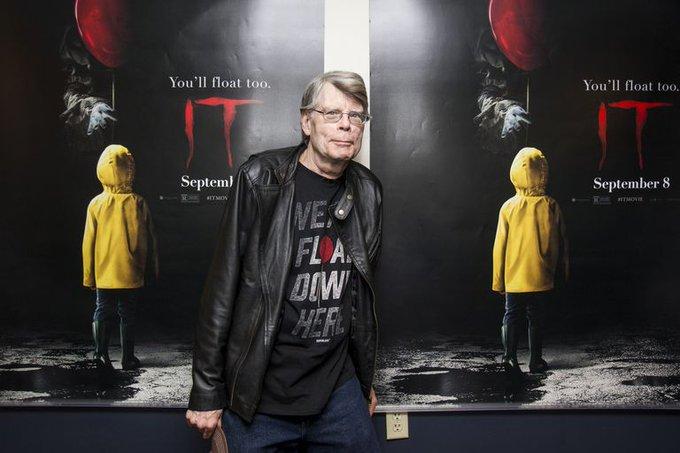 "Happy birthday \""King of horrors\"" Stephen King"