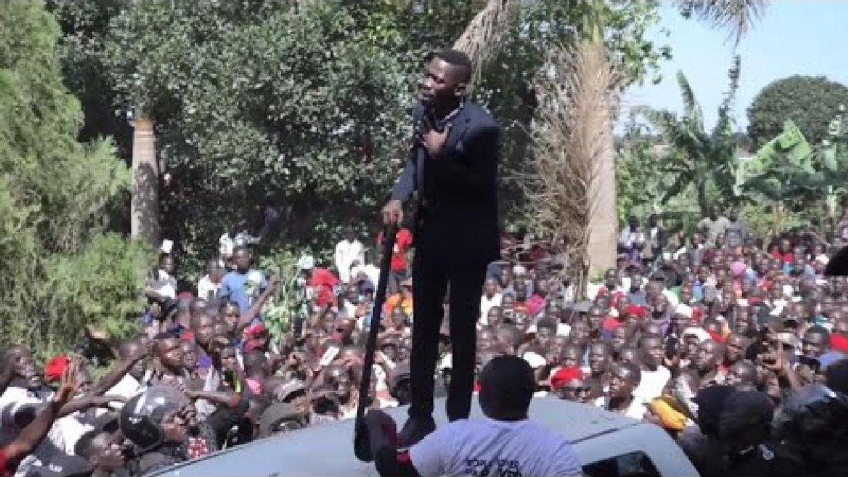 ?? Uganda's Bobi Wine returns home