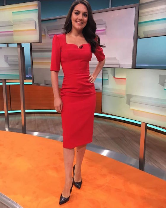 Laura Tobin looked gorgeous on GoodMorningBritain today - find out where her dress is from: