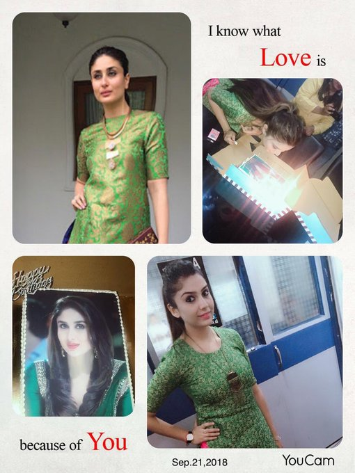 Happy birthday Kareena Kapoor khan   I m a big fan of yours