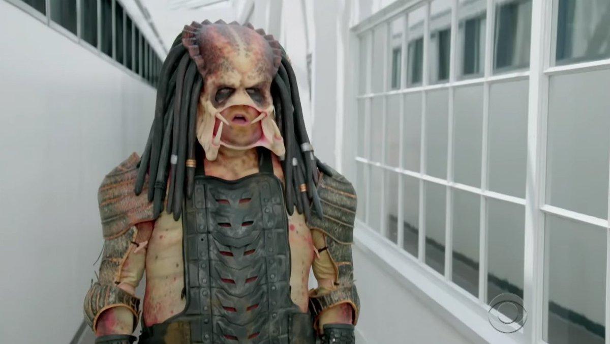 James Corden's Predator has a rough go finding work in Hollywood