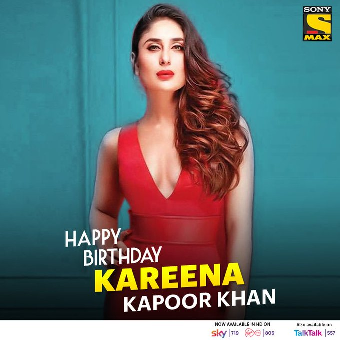 Strong, independent and confident Happy Birthday Kareena Kapoor Khan.