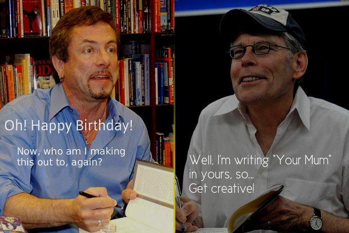 Happy Birthday To StephenKing