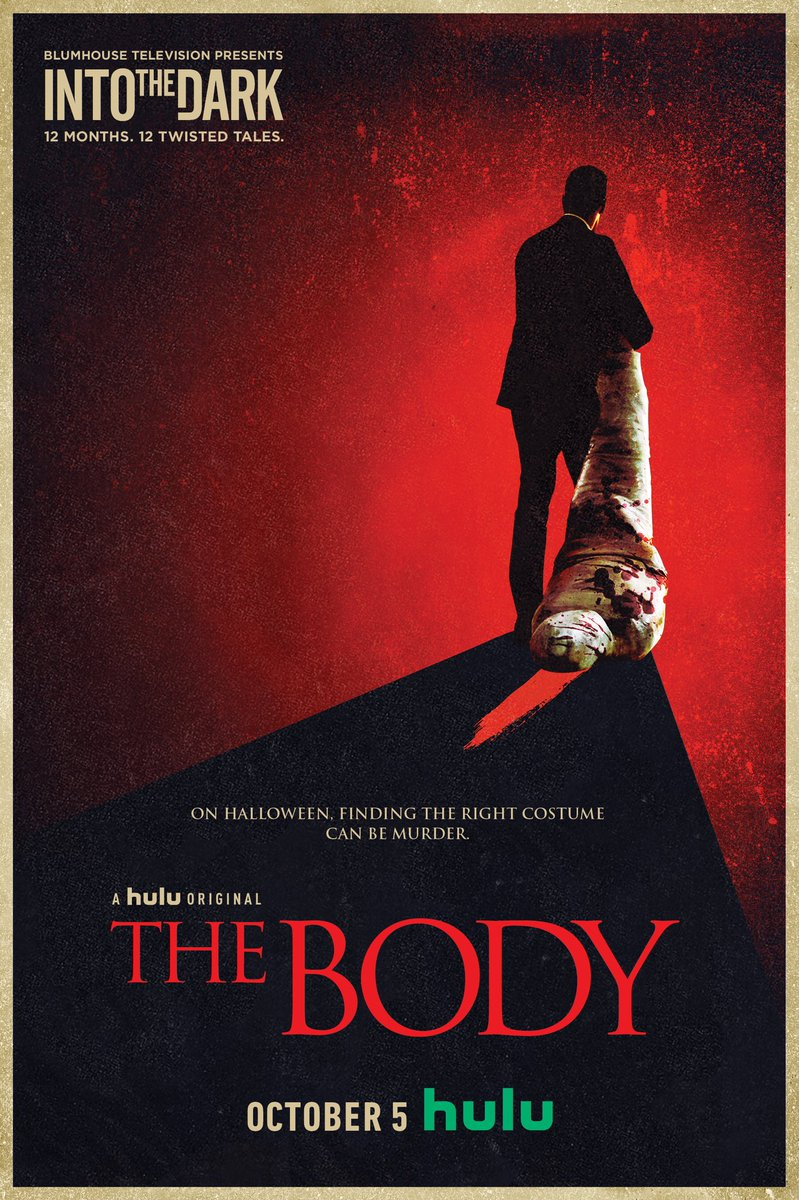 'The Body' directed by is out on October 5th! I make a little appearance in this episode
