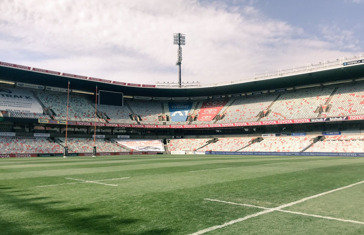 RT @UlsterRugby: 📸 | Toyota Stadium, Bloemfontein   Another match day, another class venue in South Africa 👌 https://t.co/mqx36vOM5a