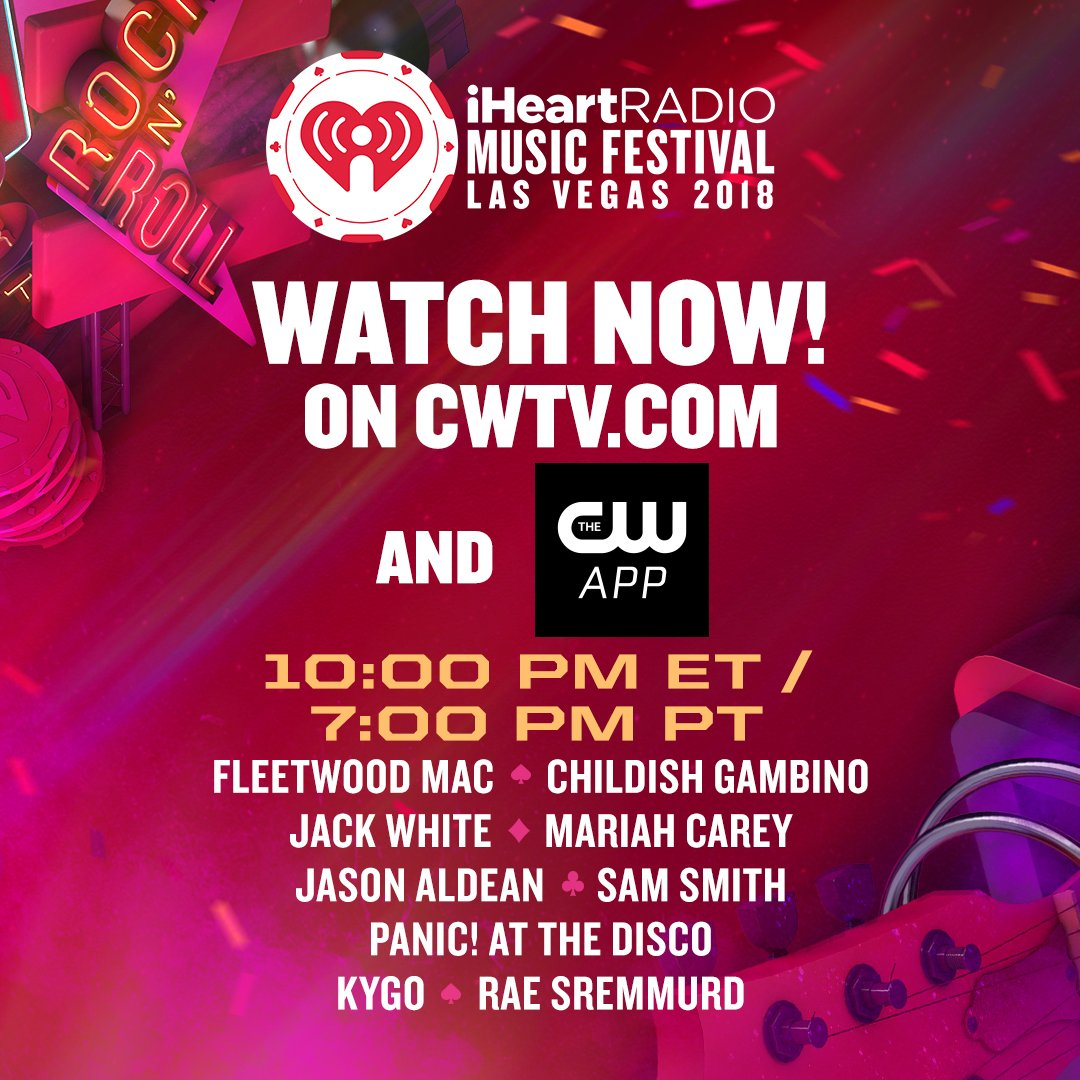 It's show time! Watch the #iHeartFestival right now on https://t.co/qFpeGjMTq1 ???????? https://t.co/3Zuegtuo5X