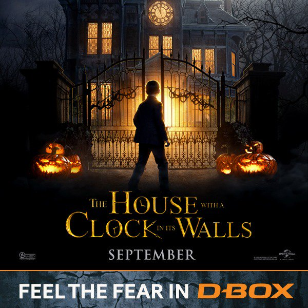 test Twitter Media - Time's up! You can be moved by the magic that lives in @housewithaclock, motion by #DBOX, in theaters NOW. Get your tickets here : https://t.co/PzIgCEQ6FZ and tell us how was your DBOX experience! #feelthefear #DBOX #feelitall https://t.co/r2Km5ai7sM