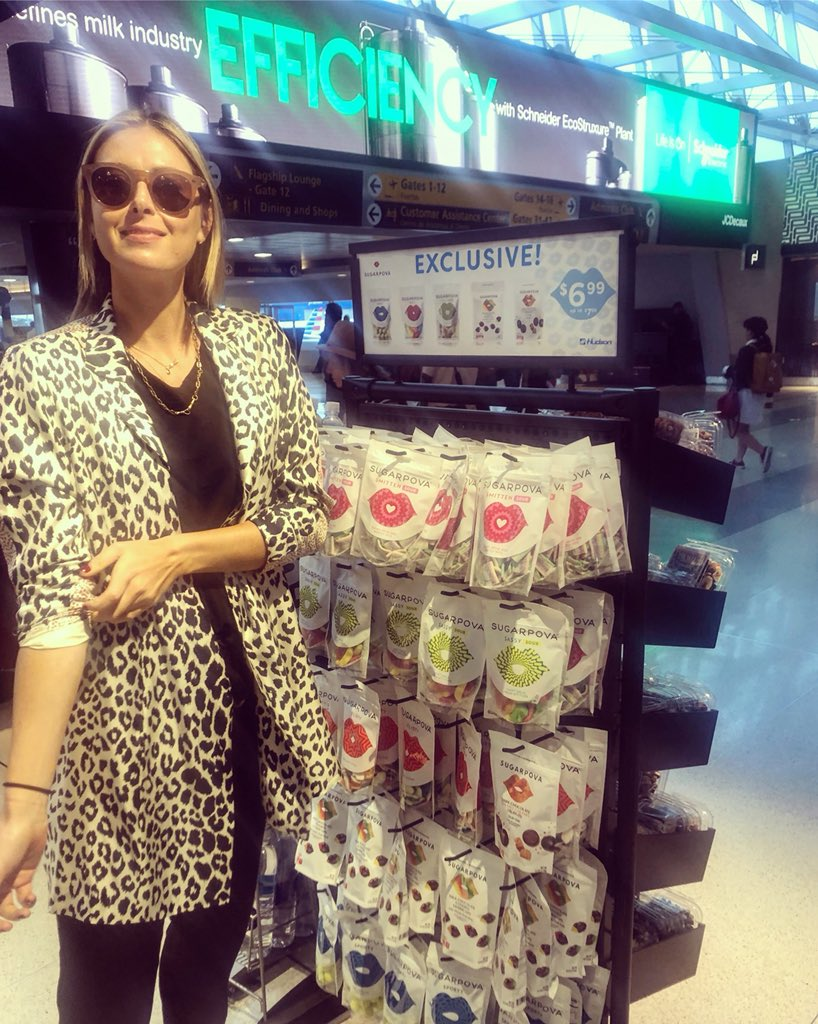 Spotted @Sugarpova JFK Terminal 8 American Airlines @hudsongroup https://t.co/GPGQ6u7g9y