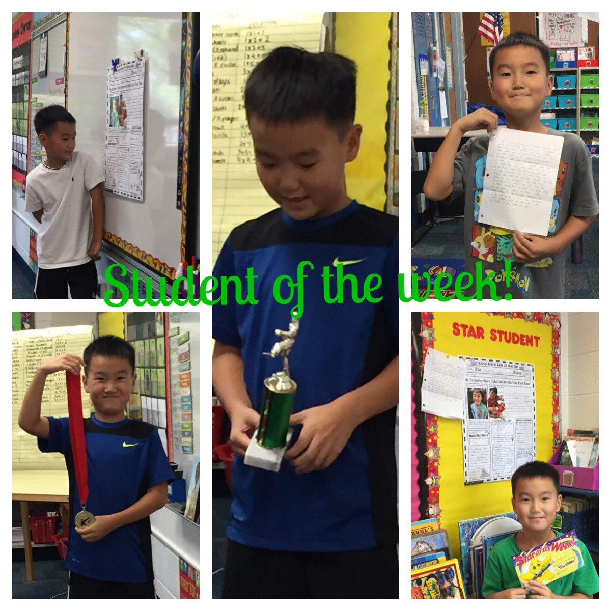 test Twitter Media - Our first student of the week! #d30learns https://t.co/kRDqBbeYZ7