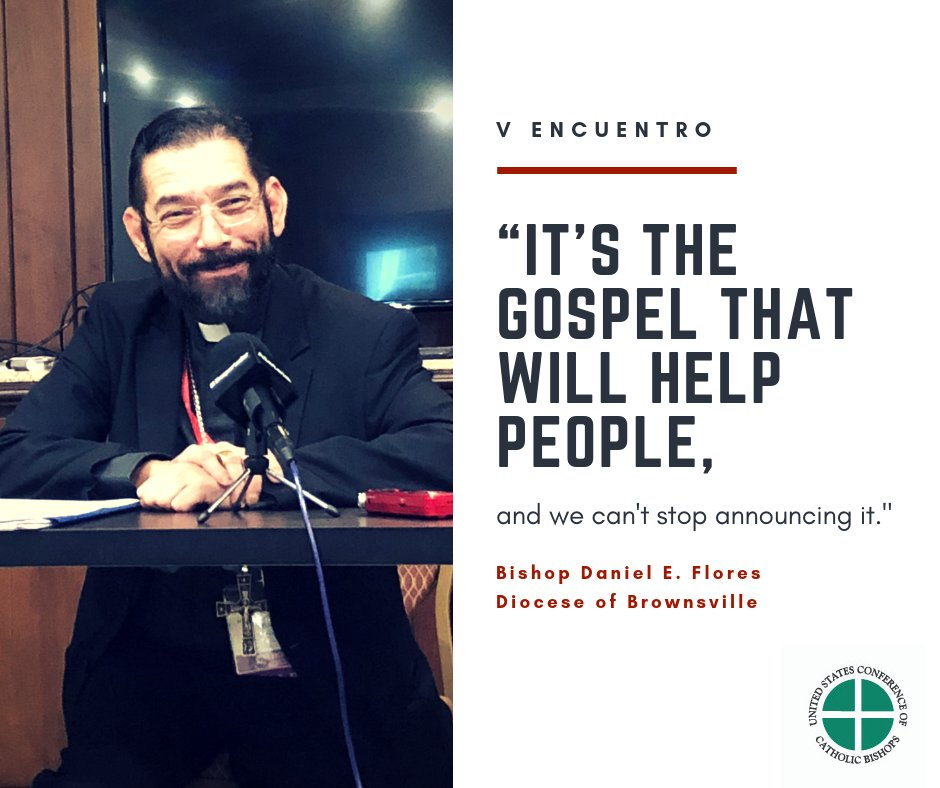 """test Twitter Media - .@bpdflores """"It's the Gospel that will help people."""" #VEncuentro @ENAHVE https://t.co/C5Hdrep4n9"""
