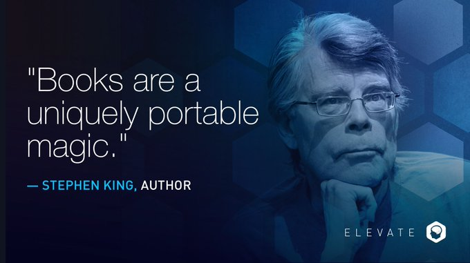 Happy birthday to the American author, Stephen King. His books have sold more than 350 million copies.