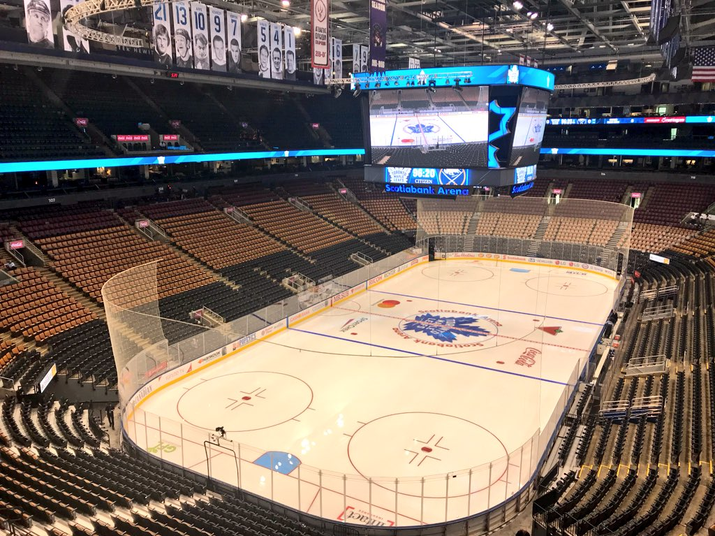test Twitter Media - RT @ScotiabankArena: Ready. @MapleLeafs https://t.co/KLh7QGKCxo